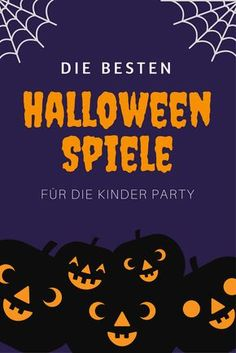 Halloween Kinderparty Spiele Ideen