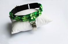 Armband for dog show / number holder / armband with clip ring