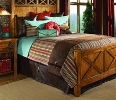 Cortez Bedding Set. A gorgeous addition to your rustic bedroom. $2,296.