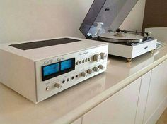"1,367 Likes, 10 Comments - Vintage Audio Love (@vintageaudiolove) on Instagram: ""The white class !!⠀ .⠀ NAD 90 & Pioneer PL-12⠀ .⠀ NAD 90⠀ Stereo Amplifier (1975-76)⠀ .⠀ Power…"""