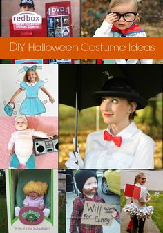 8 Easy DIY Halloween Costumes featured on MomAdvice.com.
