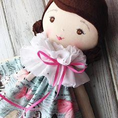 Handmade Doll by SpunCandy #spuncandydolls #handmadedolls