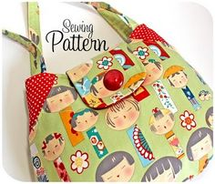Lots of Pockets Tote Bag Pattern