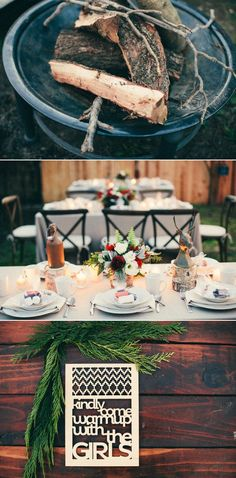 S'mores Party by Jesi Haack | Style Me Pretty