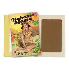 Bronzer Bahama Mama The Balm puder theBalm The Balm Bronzer, Best Bronzer, Paraben Free Makeup, Oil Free Makeup, The Balm Bahama Mama, Concealer, Bronzer Makeup, Bahama Mama Bronzer, Le Contouring