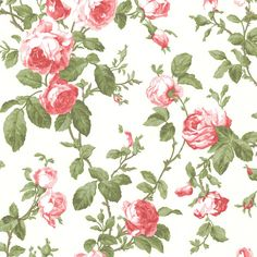"""Brewster Home Fashions Claremont Wilda Roselle Trail 33' x 20.5"""" Floral Embossed Wallpaper & Reviews   Wayfair"""