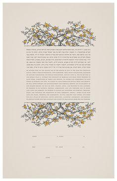 Ketubah: Jewish Wedding Contract