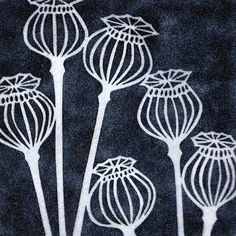 yellow house art licensing - artists - H I J K - black poppy seedheads Doodle Drawing, Doodle Art, Motifs Art Nouveau, Linoprint, Sgraffito, Art Graphique, Linocut Prints, Textile Art, Home Art