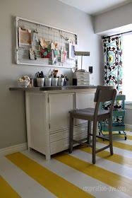 IKEA Raskog cart for craft storage