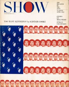 Show, April 1963. Art director: Henry Wolf