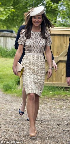 Pippa Middleton in Tory Burch's Adelaide Dress