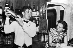 All too briefly together: Esmond and Jessica working behind a bar in Miami in 1940  Churchill's Rebels: Esmond Romilly and Jessica Mitford Meredith Whitford Umbria Press, pp.320, £12.95, ISBN: 9781910074015