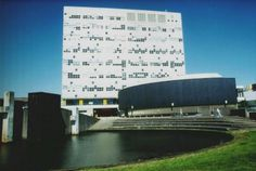 Wentgebouw a.k.a. de ponskaart, De Uithof, Utrecht