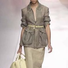 Women Streetwear Long Sleeve Belt Waisted Army Green Large Pocket Coats And Jackets Women Blazer Blazers For Women, Coats For Women, Clothes For Women, Women Blazer, Long Winter Jacket, Summer Jacket, Plaid Jacket, Hooded Jacket, Blazer Jacket