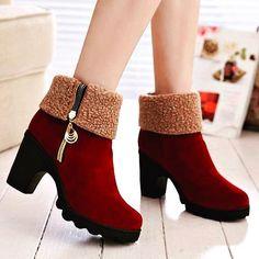 Shalena High Heel Snow Boot http://shalena.ca #women #fashion #dress #shoes #coat #accessories #love #life #american #canadian #australia #newzealand #uk #england #france #germany #spain  #latestfashion #beautiful #happy #pretty #colorful #sweet #bestquality #shopping #womenfashion  #followforfollow #follow4follow #f4f #ifollowback