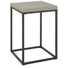 Accent sängbord - Ljusgrå betong