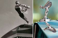 """This is the famous Rolls-Royce' """"Spirit of Ectasy"""" hood ornament"""