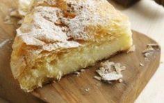 Bougatsa (Semolina custard pastry)