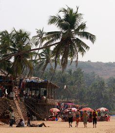Anjuna Beach, #Goa