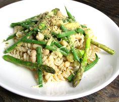 Pasta med asparges