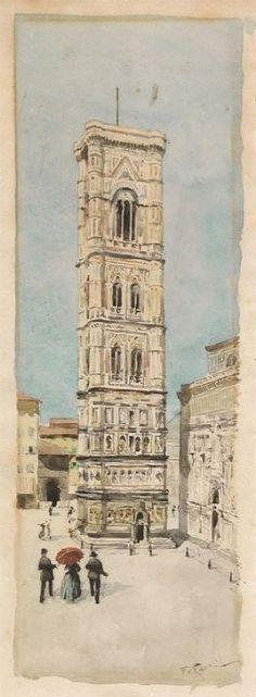 Veduta del Campanile di Giotto