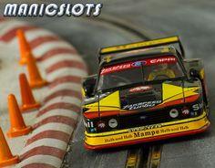 Slot cars, Sideways Ford Capri Zakspeed, SW17 Group 5 'Mampe' 1978