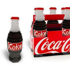 LEGO Coca Cola Six Pack | Flickr - Photo Sharing!