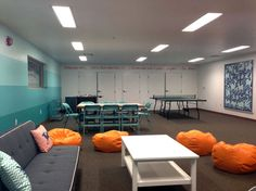 Great renovation of a youth center
