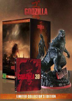 Godzilla Limited Collectors Edition exklusiv bei Amazon.de 3D Blu-ray: Amazon.de: DVD & Blu-ray