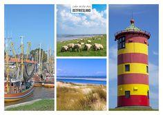 Ostfriesland | Urlaubsgrüße | Echte Postkarten online versenden | MyPostcard.com