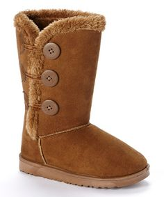 Warm Walks: Shearling-Style Boots | Daily deals for moms, babies and kids