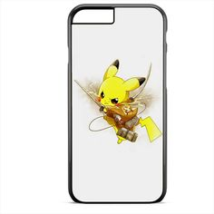 Pokemon Pikachu Attack Onbtitan Shingeki No Kyojin TATUM-8830 Apple Phonecase Cover For Iphone SE Case