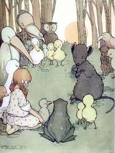 Mabel Lucie Atwell - A Mouse's Tale