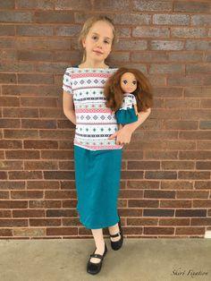 Marlene and Miss Marlene Patterns - Skirt Fixation Girl Skirts, Modest Outfits, Boat Neck, Sewing Patterns, Shirts, Vintage, Fashion, Moda, Fashion Styles