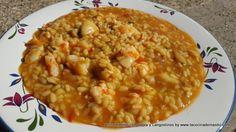 Este arroz meloso con sepia y gambones es una de los arroces mas ricos que te vas a encontrar por internete, entra a ver la receta.