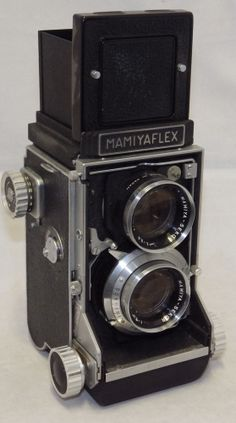 Vintage Mamiyaflex C2 105mm Twin Lens Reflex (TLR) Medium Format Camera &Case