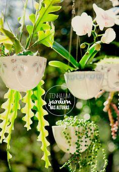hanging gardens #decor #gardening #jardins