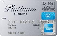 American Express Platinum Business   Saison Card International