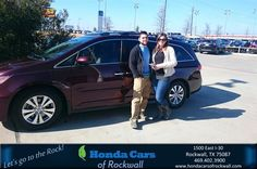 Happy Anniversary to Ashton on your #Honda #Odyssey from Art Sanders at Honda Cars of Rockwall!  https://deliverymaxx.com/DealerReviews.aspx?DealerCode=VSDF  #Anniversary #HondaCarsofRockwall