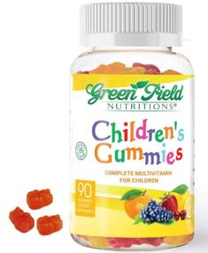 Children's Complete Multivitamin Gummies Eye Vitamins, Health Vitamins, Vitamins And Minerals, Acv Diet, Teeth Health, Natural Flavors, Apple Cider, The Cure, Nutrition