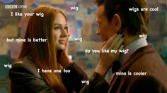 """(Congrats to the BBC Wig Department, though.) 