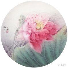 Woman Portrait, Female Portrait, Ink Painting, Placemat, Lotus, Palette, Lily, Watercolor, Wallpaper