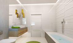 3D Bathroom Architecture Renders. Minimalist Decor, Bathtub, 3d, Bathroom, Architecture, House, Standing Bath, Washroom, Arquitetura