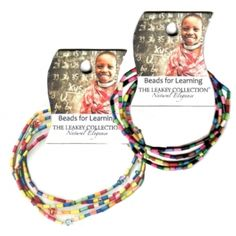 Teacher gift idea: Beads for Learning - a gift that gives back!