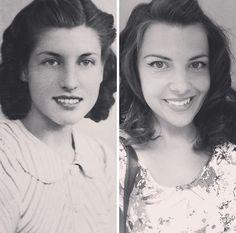 Verblüffende Ähnlichkeit