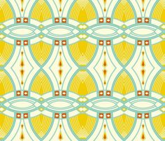 Removable wallpaper from Spoonflower - Rrrbluedeco4_shop_preview