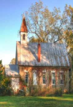 Old Time Brick Church