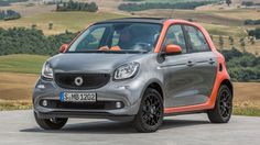Smart have two new models arriving here in the UK early next year: the new smart fortwo and smart forfour Smart Roadster, Smart Fortwo, Smart Forfour, Smart Auto, Best City Car, 2015 Wallpaper, Daimler Ag, Car Videos, Fiat 500