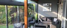 Wintergärten zum Wohnen - Aktuelles - Fenster Schmidinger Porch Swing, Outdoor Furniture, Outdoor Decor, Home Decor, Summer Garden, Windows And Doors, Homes, Decoration Home, Room Decor