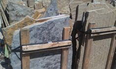 Multi color Oklahoma Stone. A full range of Blue,tan, and a hint of black.